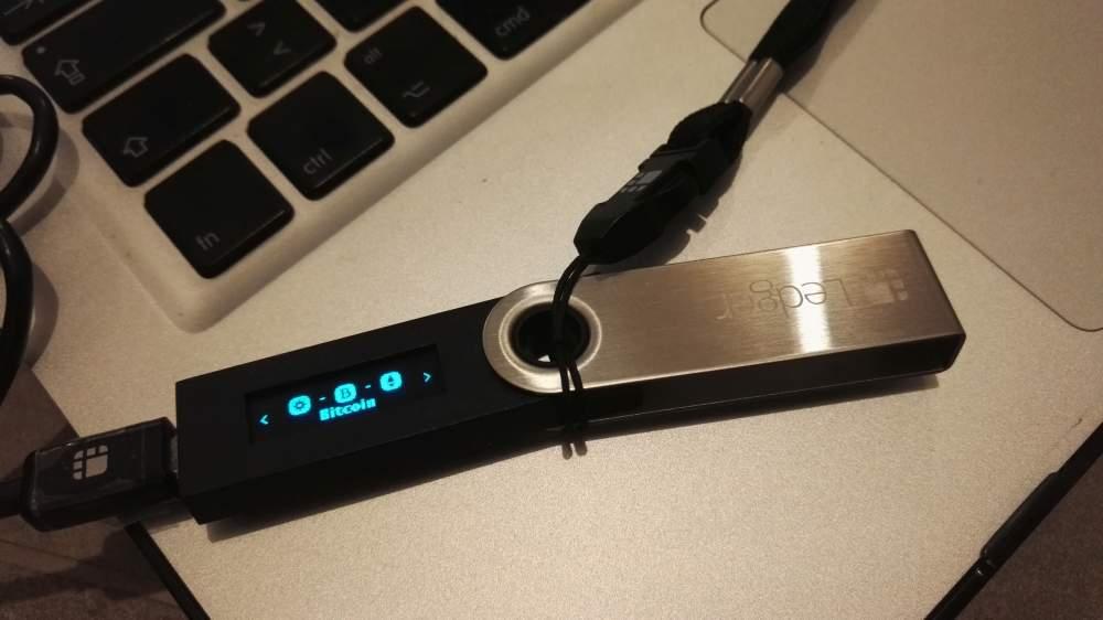Collegamento Ledger Nano S